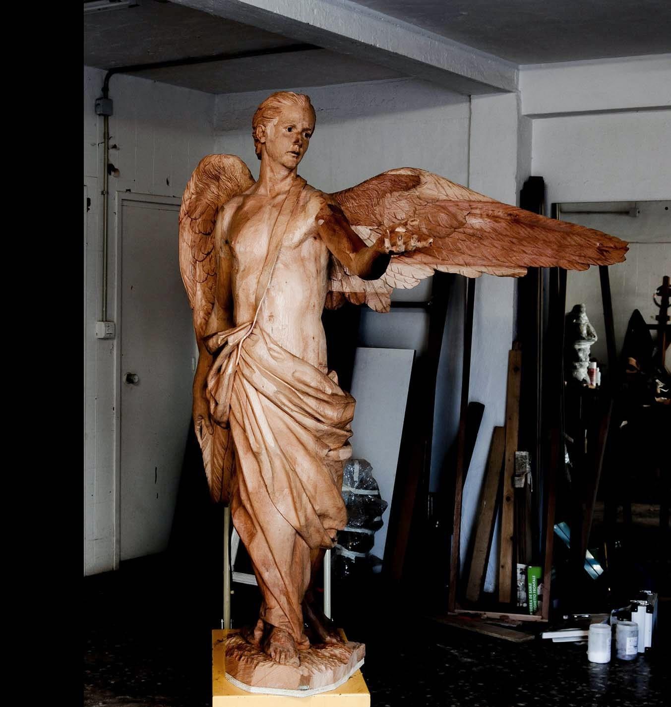 Ángel Semana Santa Tobarra escultura 15