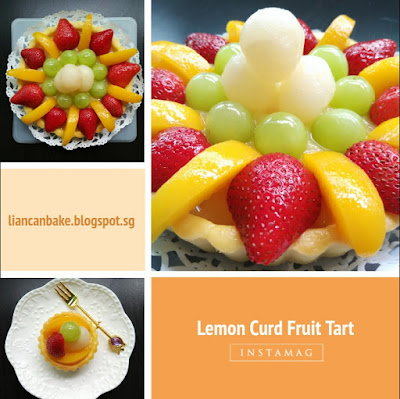 Lemon-Curd-Strawberry-peach-Tart