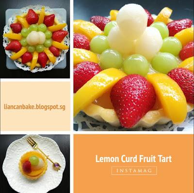Lemon-Curd-Strawberry-peach-Tart