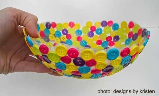 How to recycle reusing buttons into craft for Waste material craft items