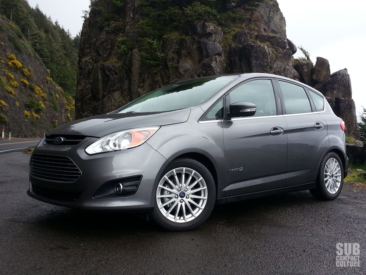 review 2013 ford c max hybrid sel subcompact culture the small car blog. Black Bedroom Furniture Sets. Home Design Ideas