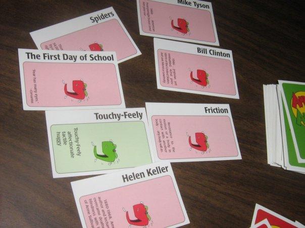 Luna Lindsey Gender Politics On Game Night Apples To Apples Vs