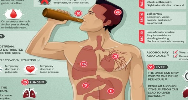 You Must Read This-These Are The Short- and Long-Term Effects of Alcohol On Your Body