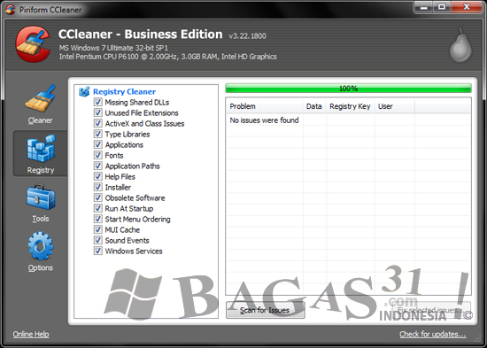 CCleaner 3.22 Business Edition Full Patch 3