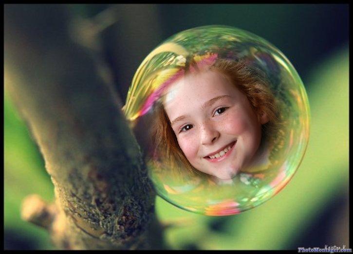 FOTOMONTAJE GRATIS - Burbujas | Fotomontajes Online