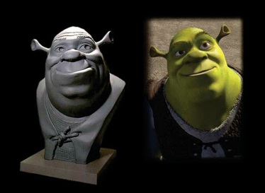 image of shrek's statue