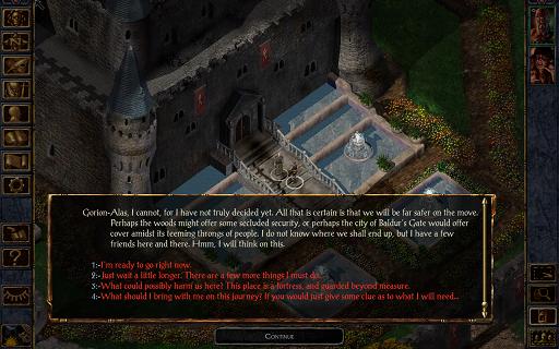 Baldur's Gate Enhanced Edition Apk