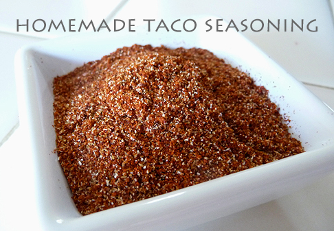 Life. Family. Love.: Homemade Taco Seasoning