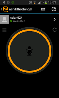 Zello Walike Talkie in Action