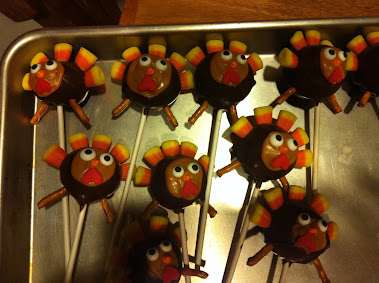 TURKEY CAKES POPS