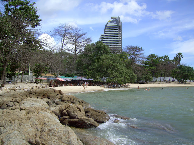 pattaya beach wong amat thailand photo sun sea and sand