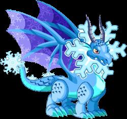 imagen copo de nieve adulto