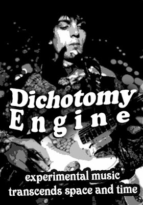 Dichotomy Engine stickers - tribute to Syd Barret - experimental music