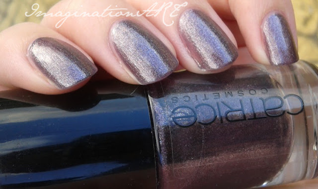 Catrice n°430 Purplelized swatches unghie smalto nail polish lacquer
