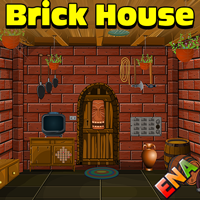 Ena brick house escape walkthrough for Minimalistic house escape 5 walkthrough