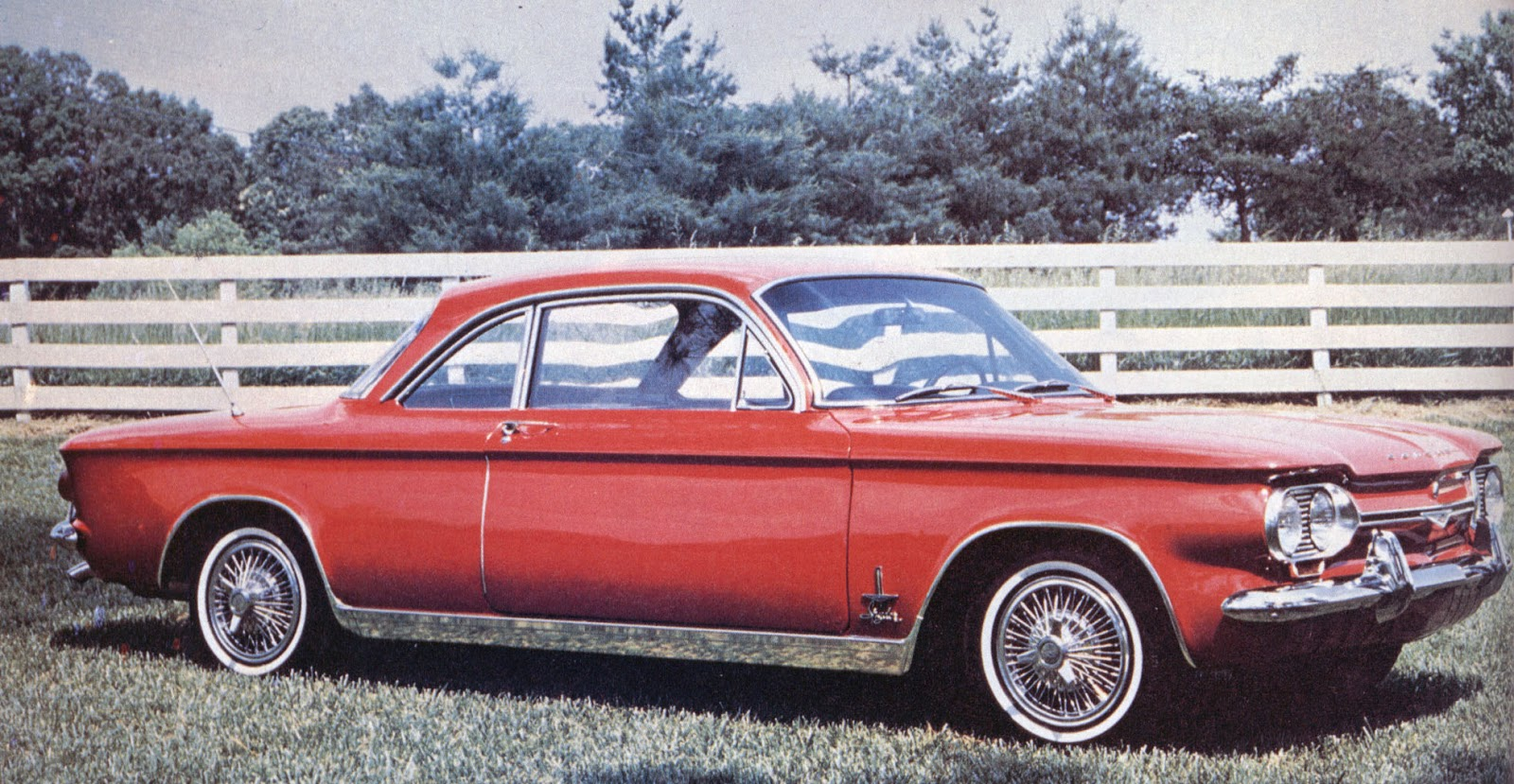 Corvair And Falcon Man Phscollectorcarworld 1960 Studebaker Lark Wiring Diagram The 1964 Monza Spyder Hardtop Was Mans Second Purchase After A 900