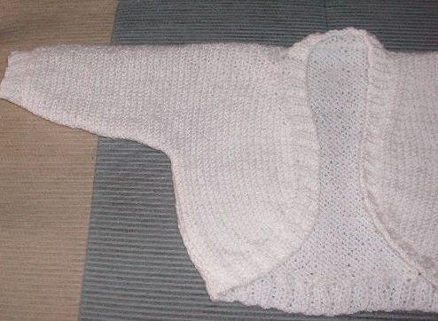 Knitting Galore: Easy Knit Baby Shrug