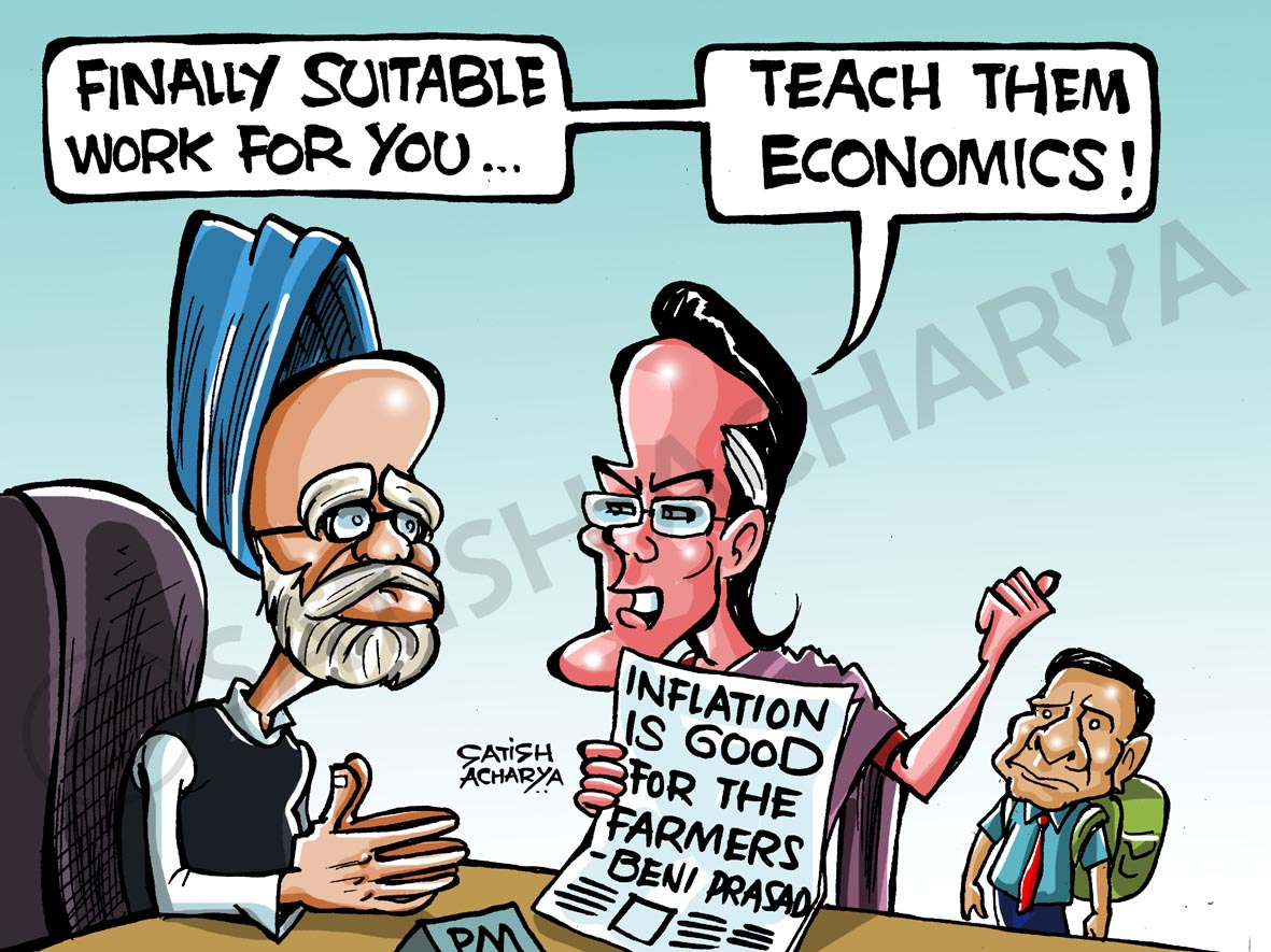 World Of An Indian Cartoonist A Suitable Job Offer For Mms