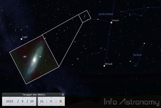 Malam Ini Saat Terbaik Melihat Galaksi Andromeda
