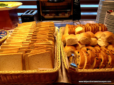 bread at BayView Park Hotel Manila