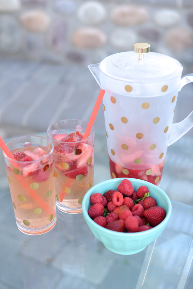 rose sangria recipe M Loves M @marmar