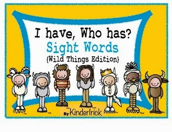 https://www.teacherspayteachers.com/Product/I-Have-Who-Has-Sight-Words-Wild-Things-Edition-1103273