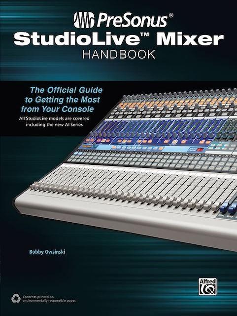 PreSonus StudioLive Mixer Handbook cover image
