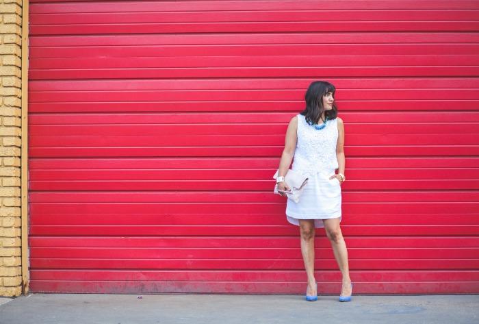 white on white for summer