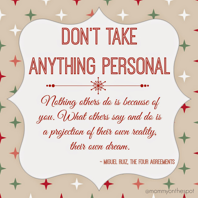 Erin Janda Rawlings Mommy on the Spot Christmas 2015 roundup 4 Agreements inspirational quote