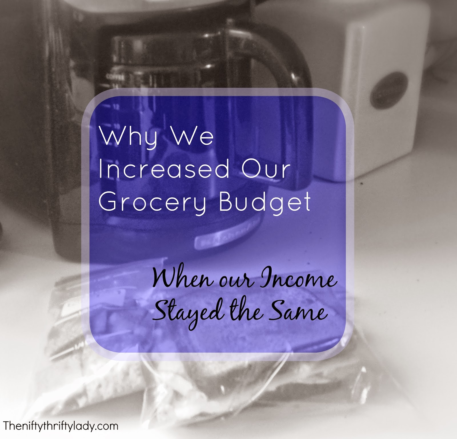 Increasing your Grocery Budget