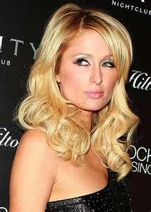 Paris Hilton foto de rosto