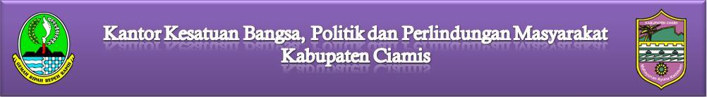 WebSite Kantor Kesbangpolinmas Kabupaten Ciamis