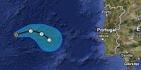 GORDON zwischen den Azoren und Portugal ist kein Tropischer Sturm mehr, Gordon, Europa, aktuell, Atlantische Hurrikansaison, Hurrikansaison 2012, August, 2012,