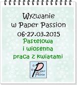Wyzwanie w Paper Passion.pl do 27-03-2015