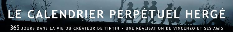 Le Calendrier Perpétuel Hergé