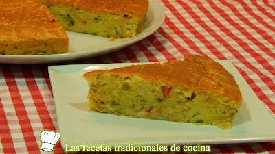 Pastel de verduras fácil y jugoso