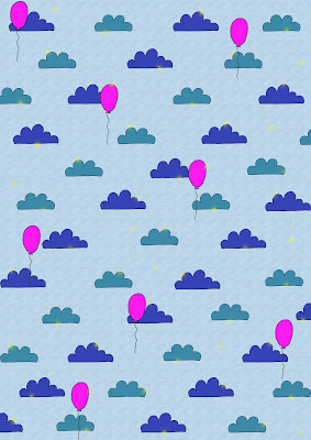 Sky balloon pattern