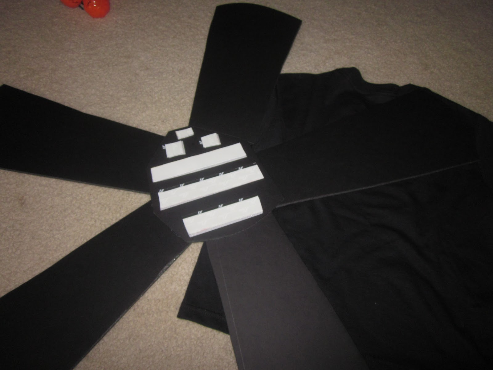 Whispers and shouts how to make ceiling fan costumes in 38 easy steps velcro ing fan to shirt aloadofball Images