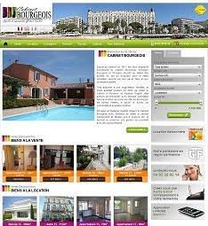 Le site du Cabinet Bourgeois