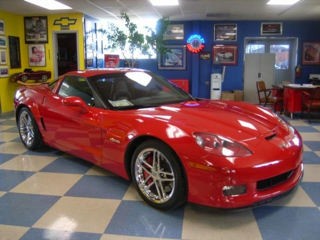 2009 Corvette Z06 at Purifoy Chevrolet