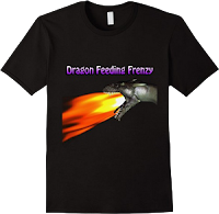 dragon feeding frenzy official t-shirt