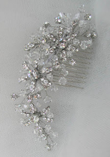 vintage wedding hair combs