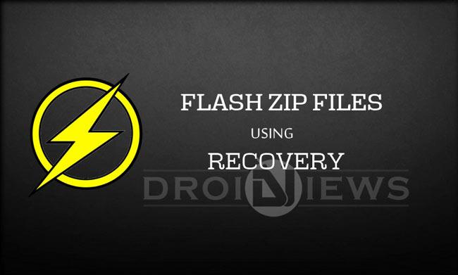 Cara Install File Zip Menggunakan Custom Recovery seperti CWM, TWRP, dan Philz Recover
