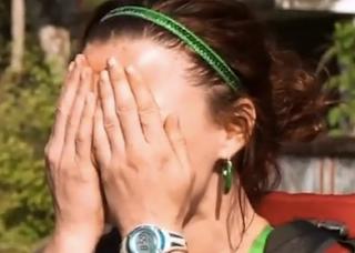 Rachel Reilly Amazing Race Shave Head