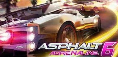 Download Asphalt Adrenaline 6 v1.3.3 Mod Apk + Data