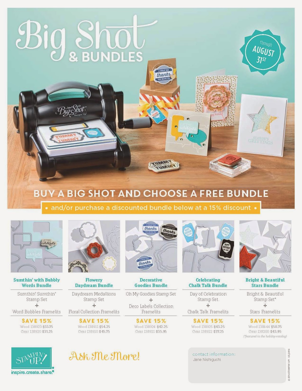 Big Shot Bundles