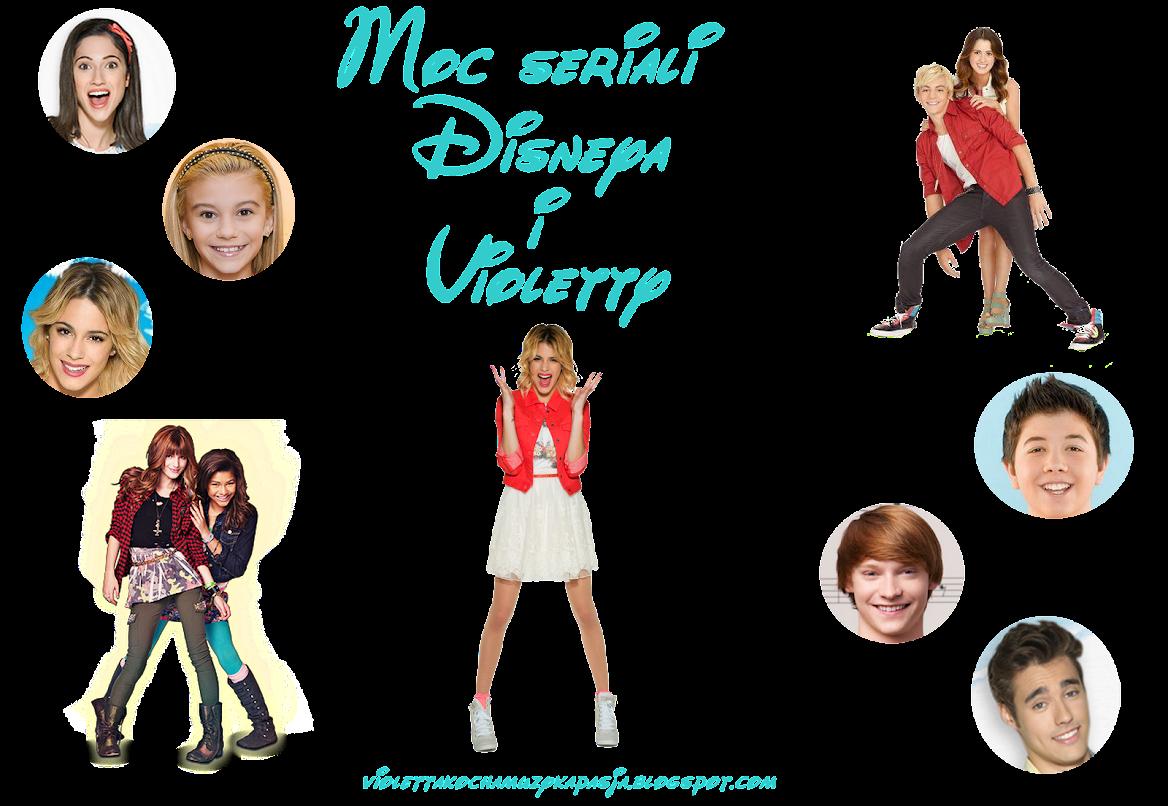 Moc seriali Disneya i Violetty