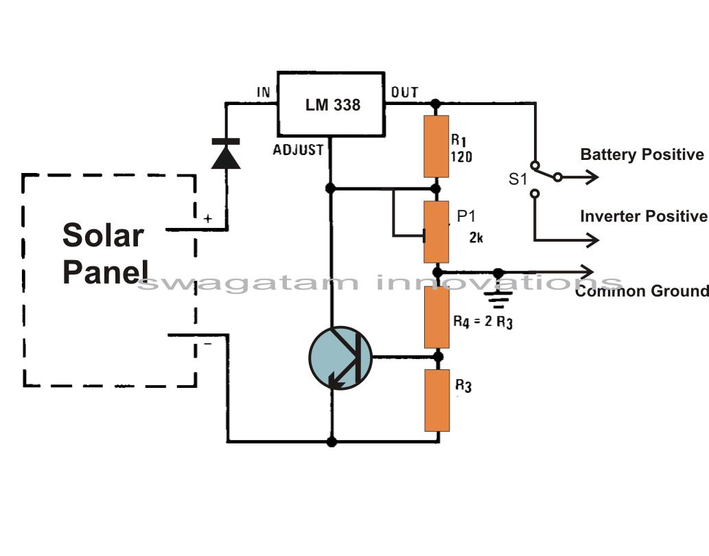 homemade solar panels wiring diagram