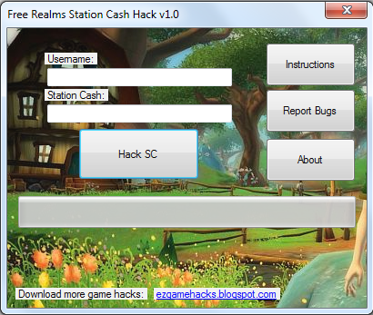 Free Realms Station Cash Hack v1.0 - [Free Realms Cheats 2013]