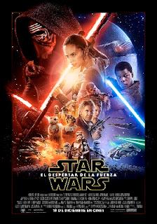 """Cartel de """"Star Wars: el despertar de la fuerza"""""""